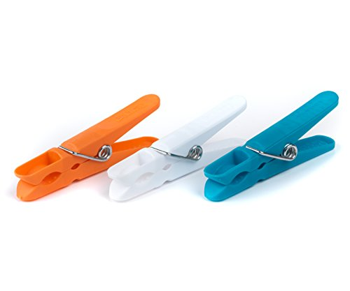 Beldray LA333376TQ vêtements Ultra Grip pour intérieur/extérieur, résistant à la Rouille et à l'humidité, Lot de 100, Couleurs Assorties, 8 x 1 x 2.5 cm, Plastique, Turquoise