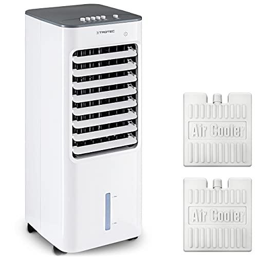 TROTEC Climatizador Enfriador de Aire portátil PAE 21, 3 en 1: Refrigeración, Ventilación y Humidificación, 50 W, Silencioso, Air Cooler