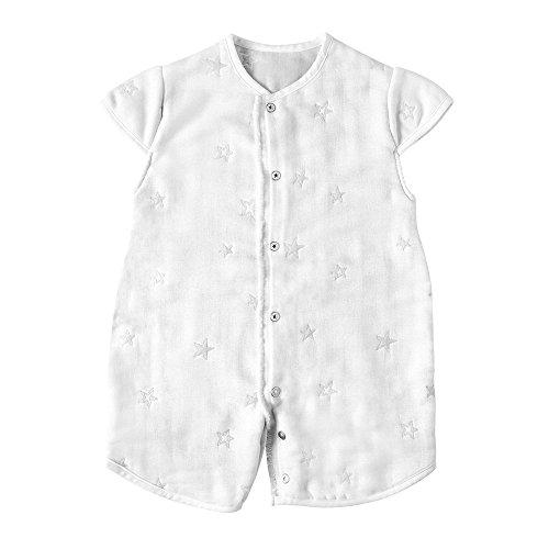 10mois(ディモワ) ふくふくガーゼ(6重ガーゼ) 2way スリーパー 袖付き 赤ちゃん