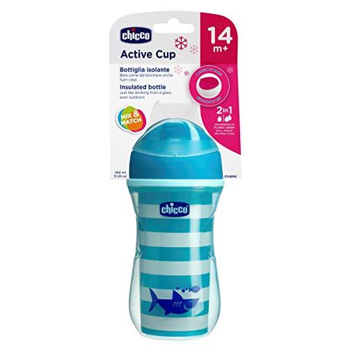 Chicco Termo Active - Vaso con boquilla fina que mantiene la temperatura,...