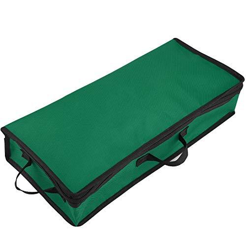 SUREH Lange Geschenkpapier-Aufbewahrungsbehälter, Wickel-Organizer, Geschenkpapier-Aufbewahrungstasche unter dem Bett, mit transparenten Taschen zur Aufbewahrung von mehreren Rollen Geschenkpapier