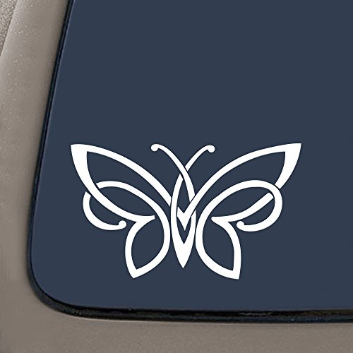NI143 Celtic knot butterfly vinyl decal bumper sticker | 6' X 3.5' | Premium Vinyl Decal