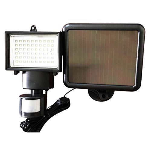KESOTO 60 LED De Energía Solar para Luces De Sensor Humano Lámpara Al Aire Libre A Prueba De Agua IP65 6V