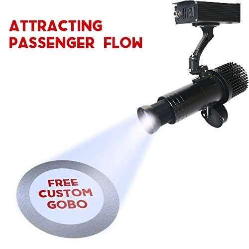 DYJD 35W LED GOBO Projektor Custom Logo Manual Zoom Für Hochzeit Geburtstag Geschäftstätigkeiten Werbung
