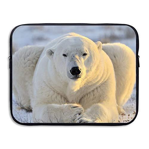 Maletín de Negocios Funda para portátil Animales Osos Polares Funda BAG-248