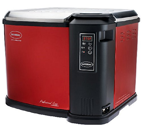 Masterbuilt Butterball XXL Digital Indoor Electric Turkey Fryer (Largest Capacity, Newest Model) (Red)