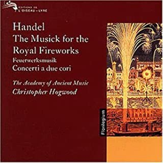 Fireworks by G.F. Handel