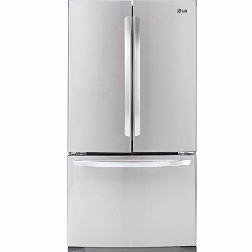 LG LFC21776ST - 20.7 Cu. Ft. Stainless Steel Counter Depth French Door Refrigerator - Energy Star