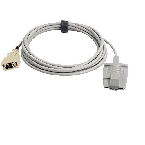 Sino-k Compatible para Masimo Sensor de Oxímetro de Pulso Adulto Suave 9.8 pies 14 Pines Conector Fda/CE Aprobado