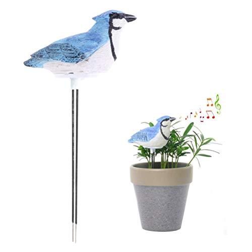 BSTQC Probador de Agua de la Planta Kit de Herramientas de jardinería Sensor higrómetro del Suelo medidor de Humedad de riego de Alarma para Planter Agua Recuerde Warining Alerta Medidor de Humedad