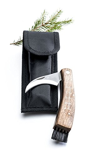 Sagaform Forest Mushroom/Truffle Knife with Canvas Case