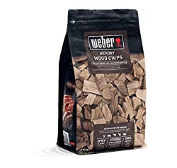 Subtly sweet flavour chips Rich taste of hickory to your big Chunk of beef Gives light and refreshing feel to your plate Ideal for smoking fish, pork and poultry Supplied in re-sealable 0.7kg (1.5lb) bag