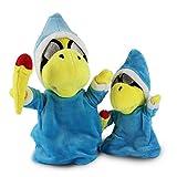 tianluo Peluches 2 Unids/Set Super Mario Bros Juguetes Magikoopa Kamek Muñecos De Peluche Juguetes Blandos Little Buddy Regalo para Niños