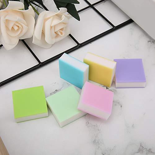 Stempel Carving Block Soft 6 Farben DIY Stamps Crafts für Stempelliebhaber 6PCS
