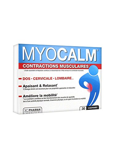 3C Pharma Myocalm Contractions Musculaires 30...