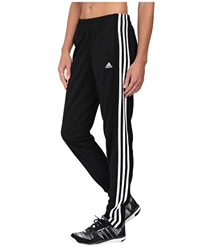 adidas Women's T10 Pants, Black/White, L