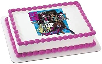 1/4 Sheet ~ Monster High Be Yourself Birthday ~ Edible Image Cake/Cupcake Topper!!!