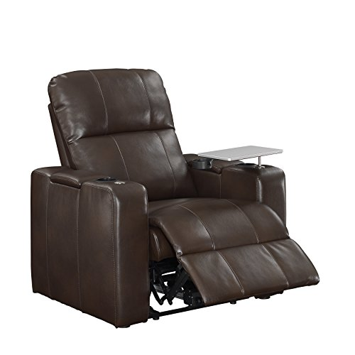 "Right2Home 1985-178-125 Power Home Theatre Recliner 38.0"" L X 39.5"