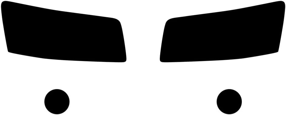 Rvinyl Rtint Headlight Tint Covers half with In a popularity Compatible Magnum Dodge