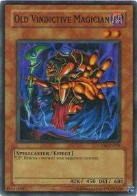 Yu-Gi-Oh! - Old Vindictive Magician (CP06-EN003) - Champion Pack Game 6 - Promo Edition - Super Rare