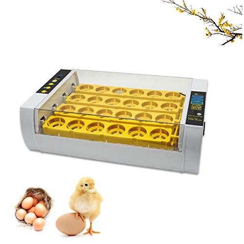 WishY 24 incubadoras automáticas pequeñas, Control automático de la Temperatura, para incubar Huevos de gallina/Pato/codorniz/Aves