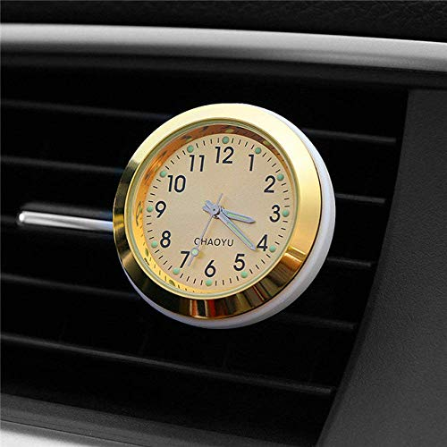 DBSCD Regalos Navidad,Reloj Digital,Reloj automático,Salida Aire,Clip Salida,automóviles,decoración Interior,Accesorios para Relojes automotrices,Regalos