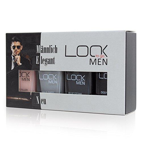 Look to go Men Collection I natürliche Maniküre und starke Farben für den markanten Look (Set mit 4 Nagellacken á 12ml)