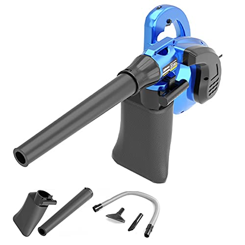 ELLENS Soplador de Hojas eléctrico/barredora de Hojas con Cable, 6 velocidades Variables,...
