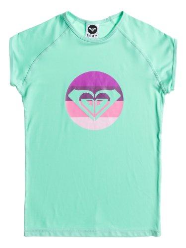 Roxy Rainbow en néoprène pour garçon CS Cap t-Shirt Manches Courtes col Rond Vert Vert 14 Ans