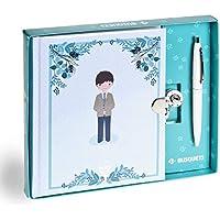 Busquets Diario Primera comunion Niño Azul by