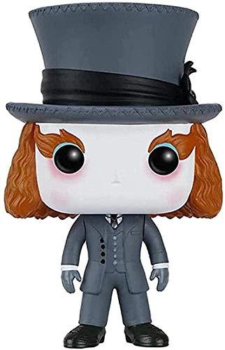 ELSVTECH Película Pop: Alicia en el país de Las Maravillas Sombrerero Loco/Tarrant Hightopp 181# / Cheshire Cat 183# Decoración del Coche
