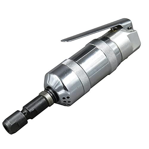 Amoladora neumática profesional de 1/4 pulgada, mini amoladora neumática Kp-640B, amoladora de moldes, herramienta de pulido, pinza, disco de lijado reemplazable