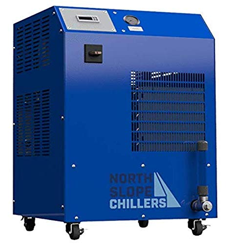 North Slope Chillers NSC0500-110/1 Freeze 1/2-Ton Industrial Chiller, 6,000 BTU's/hr, Ideal for Lasers, Engravers, Machines, Welding Equipment, Fermentation & Process Cooling