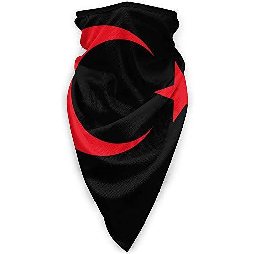 Rita.D Nationales Emblem Der Türkei Halsmanschette Wärmer Winddichte Gesichtsmaske Schal Outdoor Sportmaske
