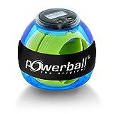 Powerball Basic Counter, gyroskopischer Handtrainer inkl. Drehzahlmesser, transparent-blau, das...