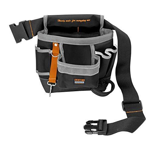 Liamostee Multifunción electricistas Cintura Cinturón Bolsa Destornilladores Martillo Lápiz Portaherramientas