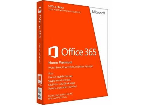 Microsoft Office 365 Home Premium 32/x64 - Abonnement 1 an