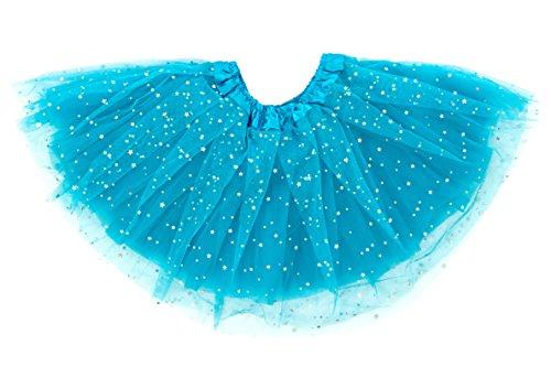 Dancina Tweens Dance Skirt 8-13 Years Turquoise