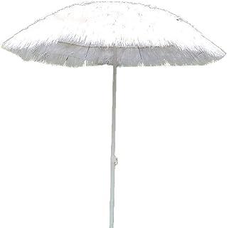 WeZest Hawaii Straw Parasols, Tiki Umbrellas, Hawaiian Umbrella Parasol for Swimming Pool Terrace Uv and Waterproof Space ...