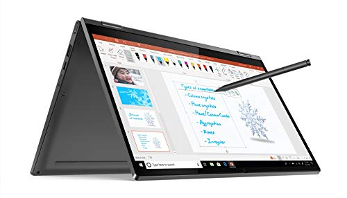 Lenovo Yoga C640 10th Gen Intel Core i5 13.3 inch Full HD IPS 2-in-1 Convertible Laptop (8GB/512GB SSD/Windows 10/MS Office 2019/Iron Grey/1.35Kg), 81UE0034IN