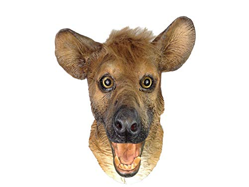 Rubber Johnnies TM Lachende Hyäne Maske Hund Stil Latex Film Qualität Kostüm Hirschjagd Party