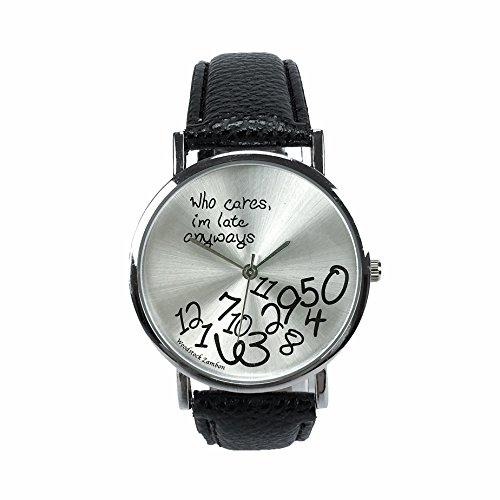 Woodstock Zambon - Orologio'Who cares, I'm late anyways'