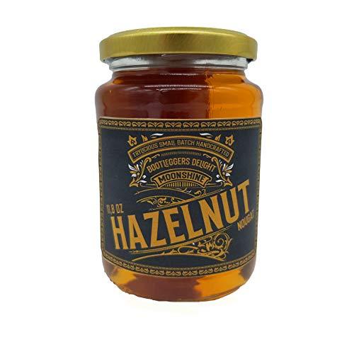 TRYLICIOUS Bootleggers Delight Moonshine Hazelnut | 350 ml feinster Haselnuss-Likör im Einmachglas | 20 vol. Alc. | Handcrafted Moonshine in Anlehnung an die Prohibition |