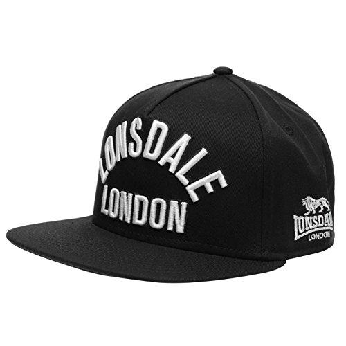 Lonsdale Herren London Snapback Cap Schwarz Herren
