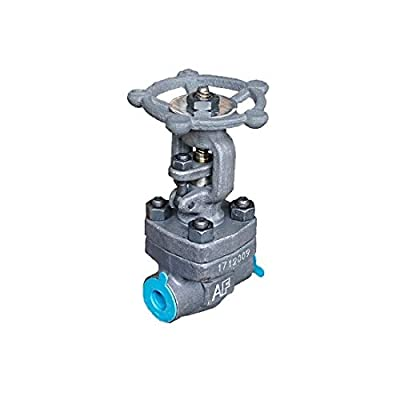 """Gate Valve, Forged Steel A105 Material, 1/2"""" NPT Female Thread, 800 PSI Working Pressure, with OS&Y Rising Stem and Stellite Seat from ADDISON FLUIDS"""
