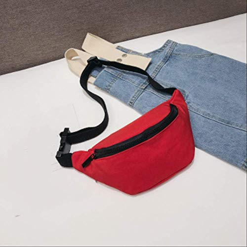 Fhdc Riñoneras Riñonera Informal Para Mujeres Niñas Riñonera Sólido Niños Riñonera Negro Rojo Amarillo Bebé Niña Bolsas De Pecho De Verano Paquetes De Cintura C