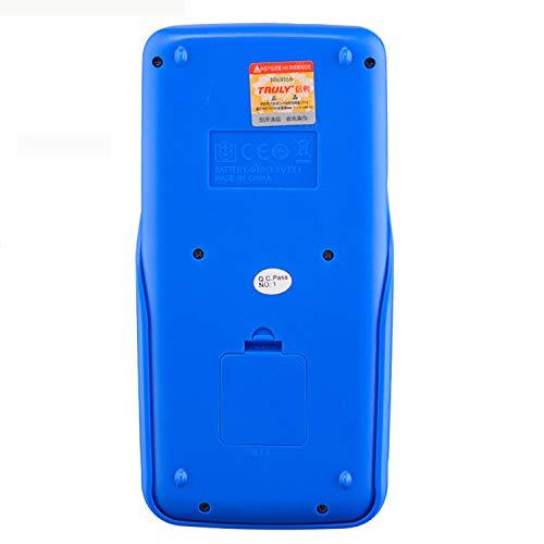 HEIFEN Wissenschaftlicher Funktionsrechner Test Student Solar Battery Dual Power Supply Multifunktion Blue