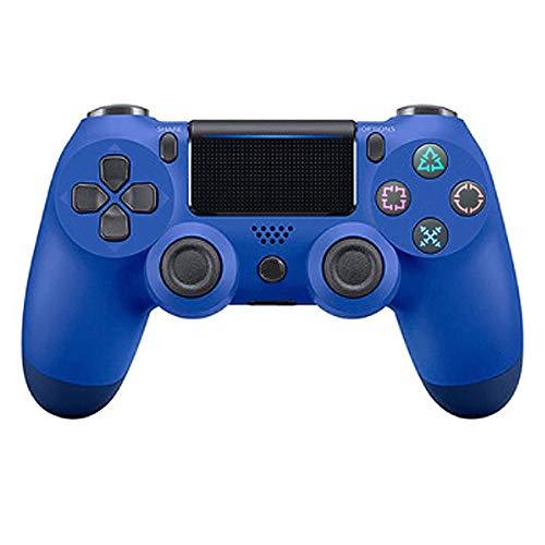 YXwD Manette de Jeu sans Fil, contrôleur Bluetooth à rétroaction vibratoire Quatre générations PS4 pour PC / PS4 / Steam et Autres contrôleurs de Jeu sans Fil