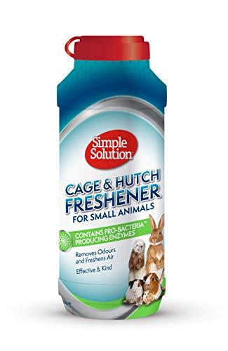 Simple Solution Refrescante De Jaulas Y Hutch con Gránulos De Limpieza Enzimática para Animales Pequeños 600 g