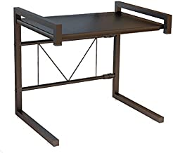 Microwave Rack Kitchen Rack Storage Carbon Steel Microwave Oven Rack (Black)